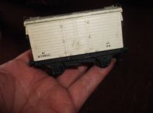 COLLECTABLE MODEL TRAIN HORNBY DUBLO 6T REFRIGERATOR VAN W59850 XP 8-8